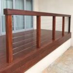 Jarra deck with balustrade
