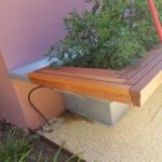 Jarrah garden bed